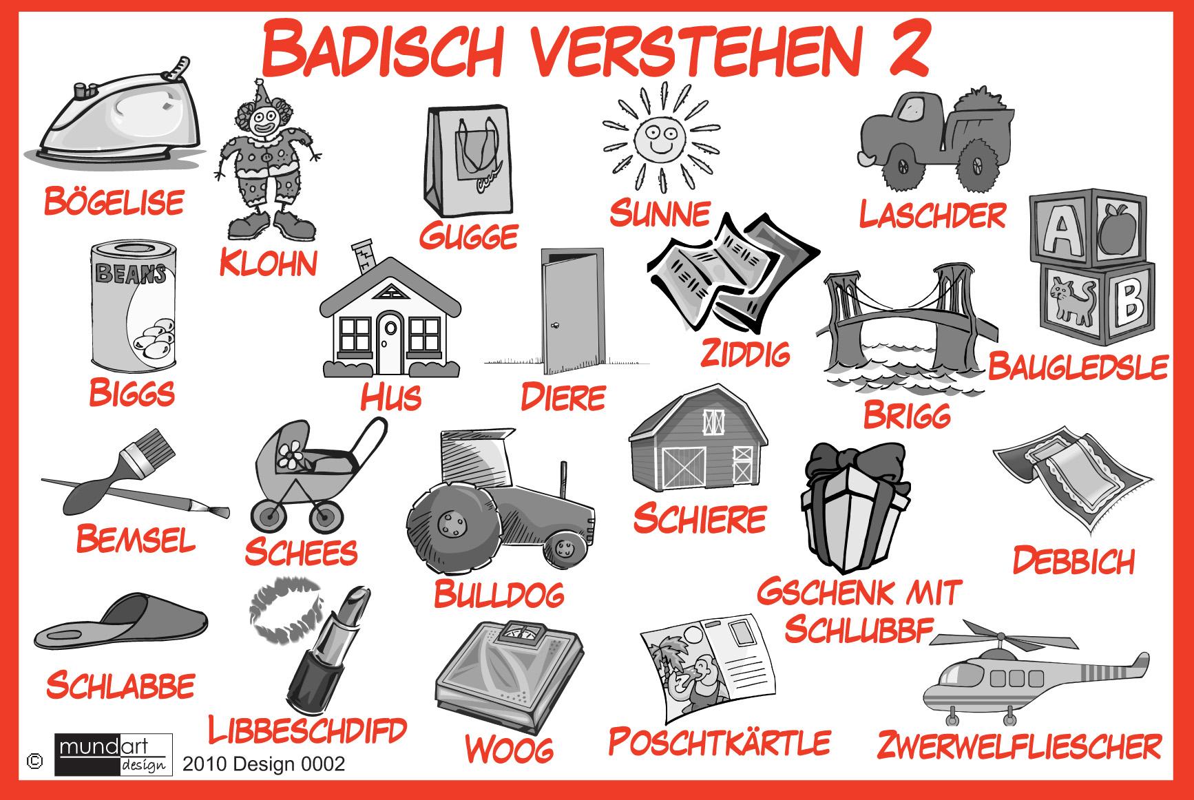 Badisch Dialekt